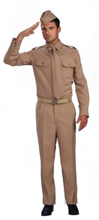 Adult Men's WWII Private Soldier Costume, Size M/L