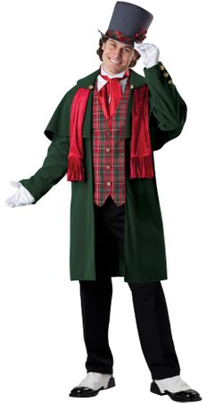 Adult Yuletide Gentleman Costume
