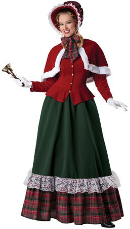 Adult Dickens Yuletide Lady Costume