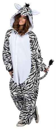 Adult Zebra Funsies Costume