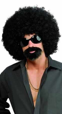 Afro Man Wig and Beard