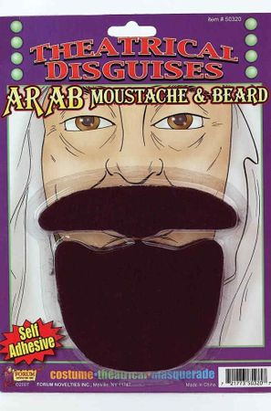 Arab Beard and Mustache Set