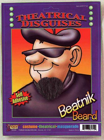 Black Beatnik Goatee
