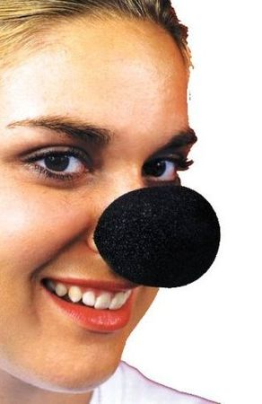 Black Foam Mouse Nose