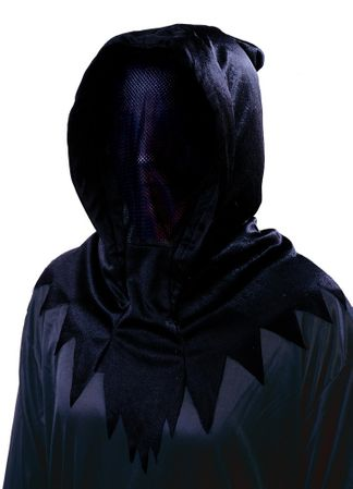 Black Hooded One-Way Invisible Mask