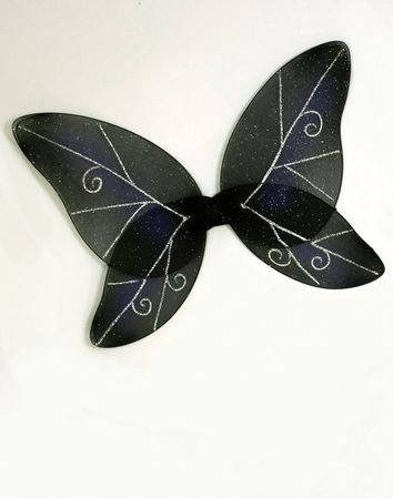 Black/Navy Dark Fairy Wings