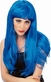 Blue Glamour Wig