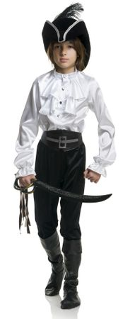 Boys' Colonial Pirate Captain Shirt