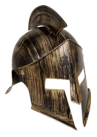 Gold Ancient Knight Helmet