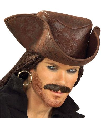 Brown Caribbean Pirate Hat