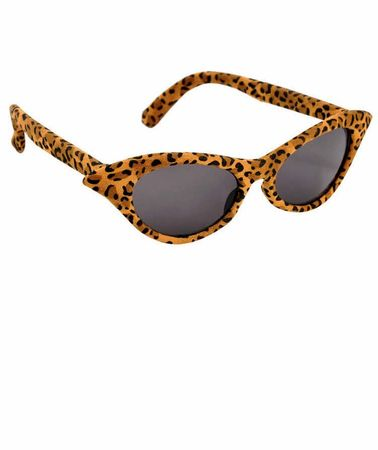 Cheetah Cat Eye Sunglasses