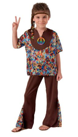 Child 70's Hippie Boy Costume
