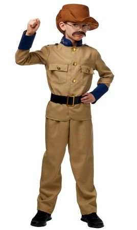 Child Colonel Theodore Roosevelt Costume