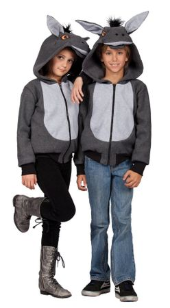Child's 100 Acres Donkey Costume Hoodie