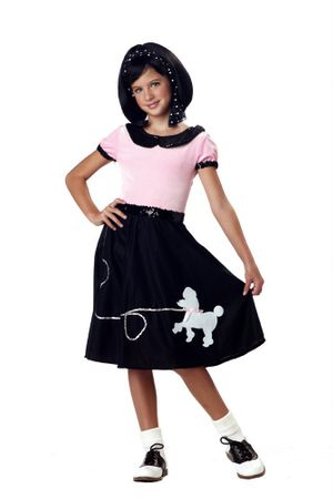 Child's 50s Sock Hop Costume