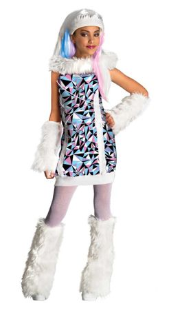 Child's Abbey Bominable Monster High Costume