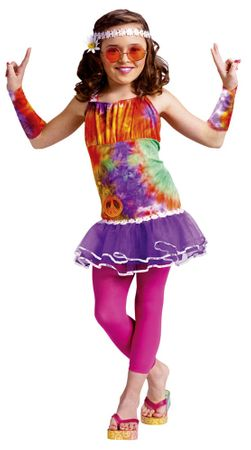 Child's Age of Aquarius 60s Costume