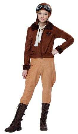 Child's Amelia Earhart Aviator Costume