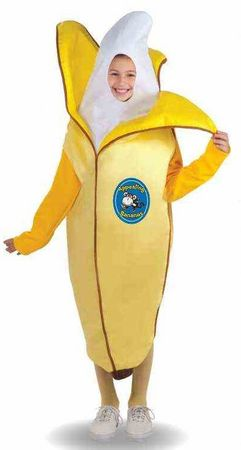 Child's Appealing Banana Costume