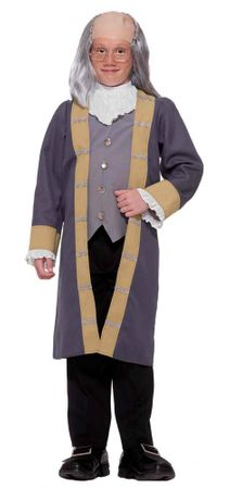 Child's Ben Franklin Costume