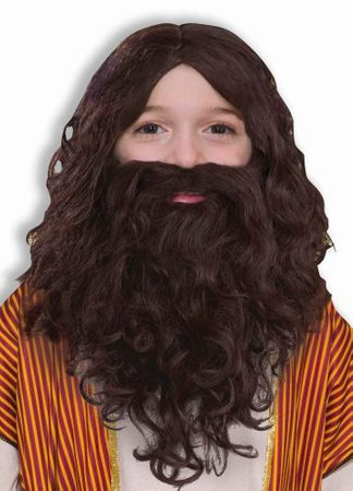 Child's Biblical Wig and Beard