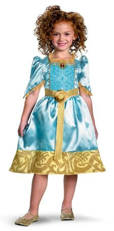 Child's Brave Merida Princess Costume