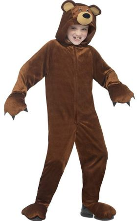 Child's Brown Bear Costume