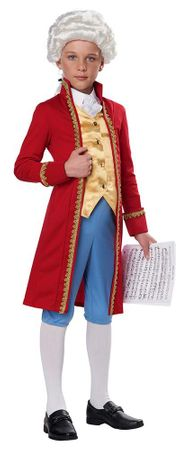 Child's Classical Composer Mozart Costume
