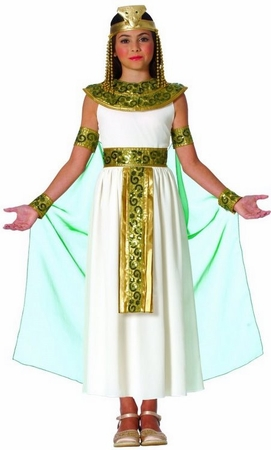 Child's Cleopatra Egyptian Queen Costume