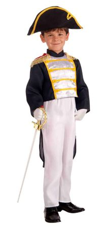 Child's Colonial General Costume