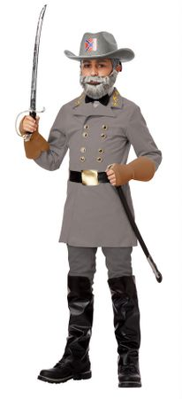 Child's Civil War General Robert E. Lee Costume