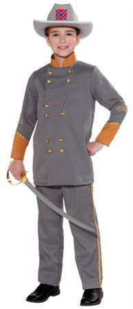 Child's Civil War Southern Officer Costume