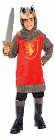 Child's Crusader King Costume