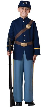 Child's Civil War Union Soldier Costume