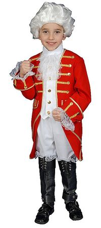 Child's Deluxe Colonial Aristocrat Costume