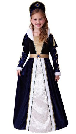 Child's Deluxe Elegant Renaissance Princess Costume