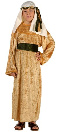 Child's Deluxe Gold Wiseman Costume