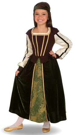 Child's Deluxe Maid Marian Costume