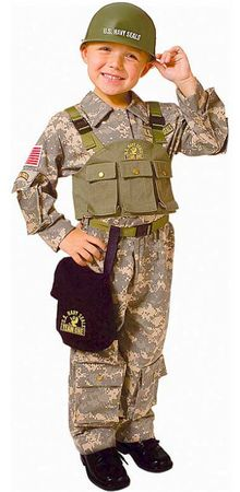 Child's Deluxe Navy SEAL Special Forces Costume