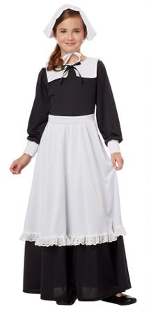 Child's Deluxe Pilgrim Girl Costume