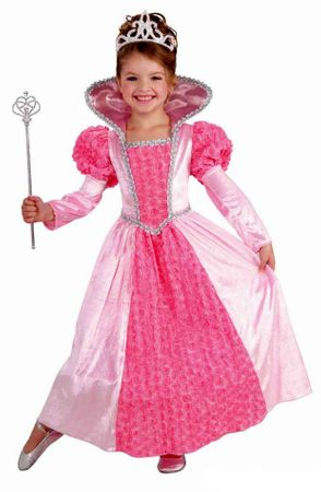 Child's Deluxe Princess Rose Costume