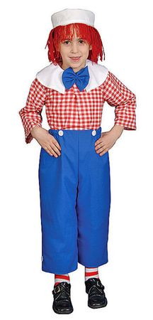 Child's Deluxe Rag Doll Boy Costume, Size 4T