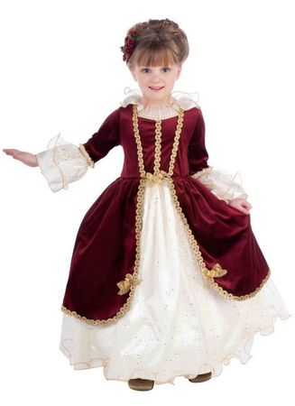 Child's Deluxe Renaissance Lady Costume