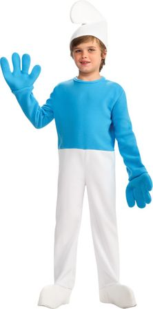 Child's Deluxe Smurf Costume