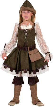 Child's Designer Lady Marian Costume