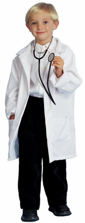 Child's Doctor Lab Coat Costume