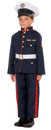 Child's Formal Marine Costume
