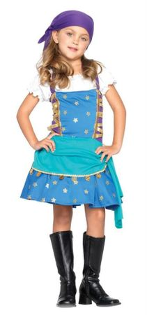 Child's Fortune Teller Princess Costume