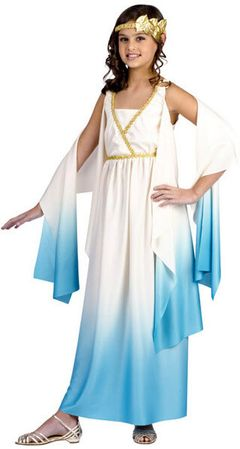 Child's Greek Goddess Costume