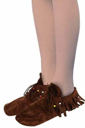 Child's Hippie/Native American Moccasin Shoe Covers